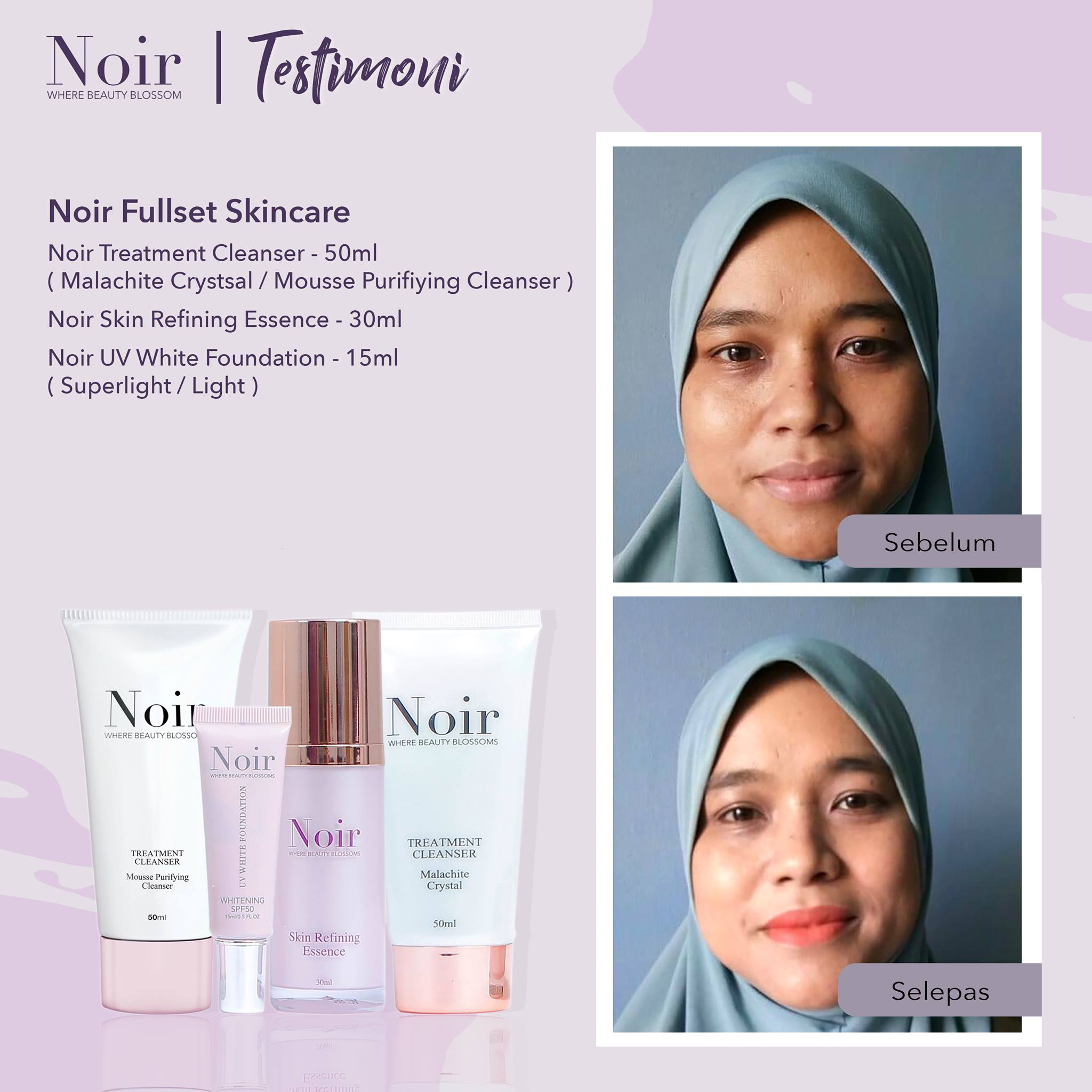 Full set skincare Noir