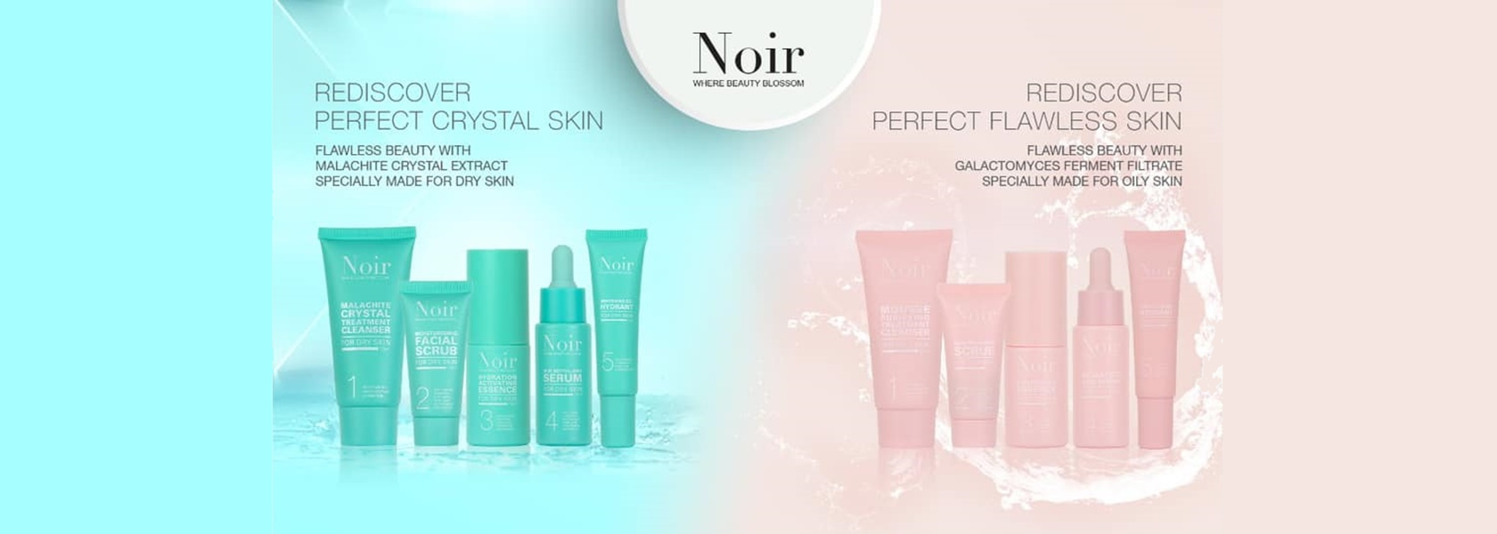 Noir Mini Set Crystal Skin & Flawless Beauty